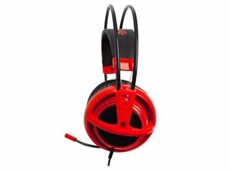 SteelSeries Siberia v2 Special Edition Red, фотография 6