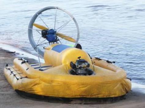 Сверхлегкое амфибийное судно на воздушной подушке