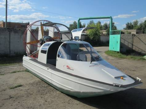 Аэроглиссер Шаг с кабиной, фотография 4