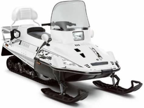 продам снегоход новый Ямаха VK540 EC белый, фотография 1