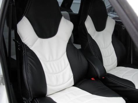Современные кожаные авточехлы, фотография 4