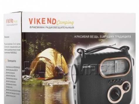 Радиоприёмник VIKEND CAMPING c фонарём, фотография 2