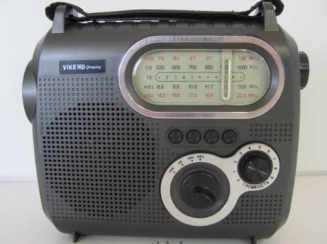 Радиоприёмник VIKEND CAMPING c фонарём, фотография 3