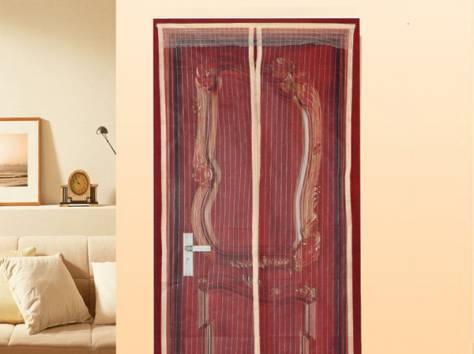 Москитная дверная сетка на магнитах, фотография 3