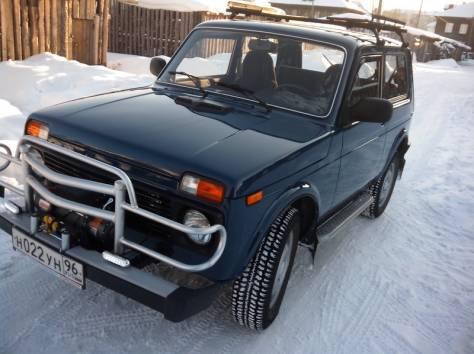 Продается ВАЗ 21214 цвет сине-зеленый. Пробег4403км, Торг, фотография 2