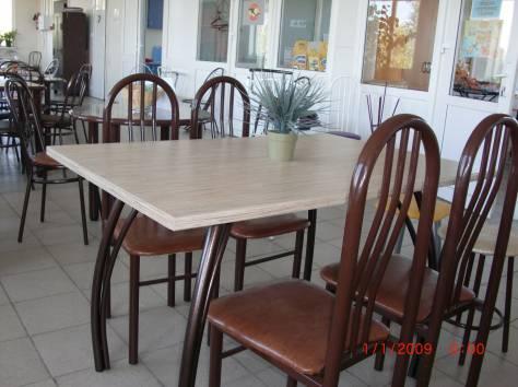 Столы и стулья для кафе, фотография 1
