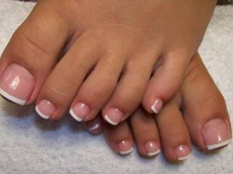 Наращивание на ногтях на ногах