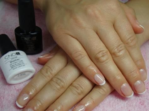 Дизайн ногтей шилак фото френч