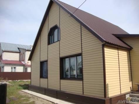 Фасады из профлиста фото