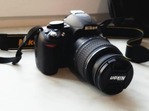 Продам зеркальный фотоаппарат Nikon D3100, фотография 1