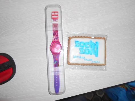 Продам часы волонтёрские Сочи-2014, фотография 1