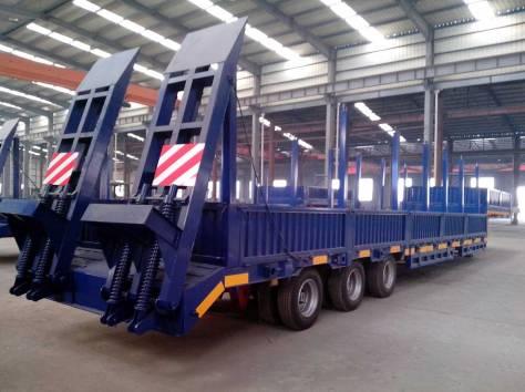 Продам трал 60 тонн с прямой площадкой 3 оси, фотография 1