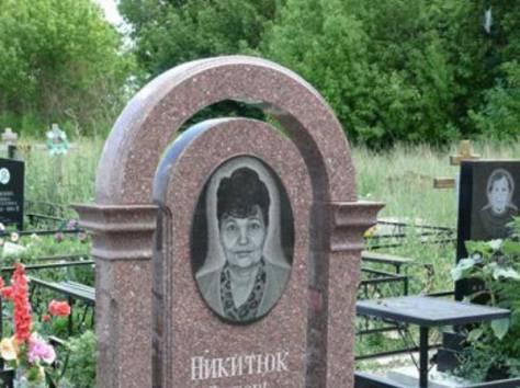 Надгробные памятники, фотография 3