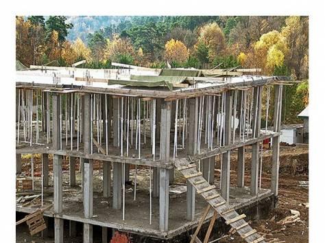 Строительство монолитного коттеджа своими руками