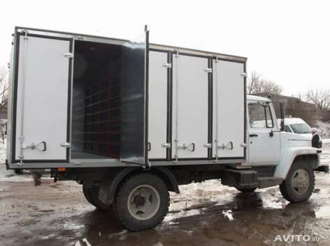 Хлебный фургон на ГАЗ-3307, 3309, фотография 1