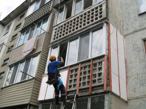 Как утеплить снаружи балкон