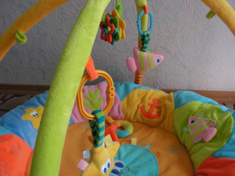 Развивающий коврик Leader Kids