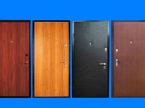 стоимость металлических дверей обшитых
