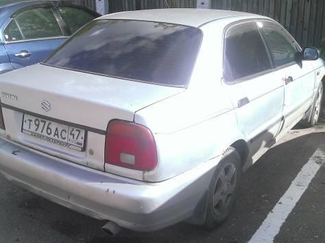 Продам Suzuki Baleno серебряный седан 5 дверей 1996 г 1.6 MT (98 л.с.),, фотография 3