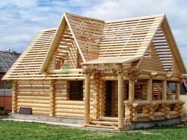 Строительство деревянных домов и бань из срубов, фотография 2
