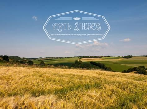 Мука пшеничная высший сорт ГОСТ «Пять хлебов» от производителя., фотография 1