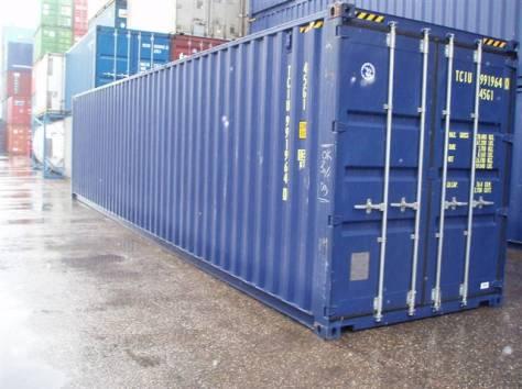 контейнер 40 футов, фотография 1