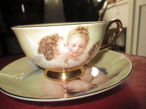 Чайный фарфоровый набор «Ангелочки» в подарочной упаковке, Великобритания, фотография 4