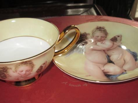 Чайный фарфоровый набор «Ангелочки» в подарочной упаковке, Великобритания, фотография 5