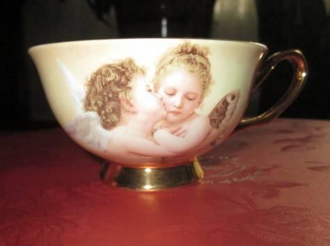 Чайный фарфоровый набор «Ангелочки» в подарочной упаковке, Великобритания, фотография 6