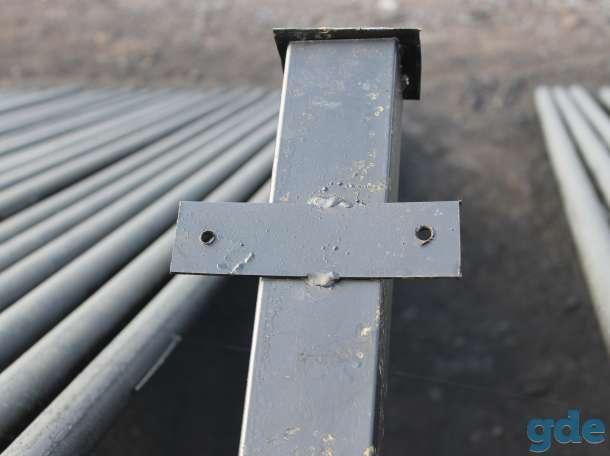 Столбы металлические, фотография 4
