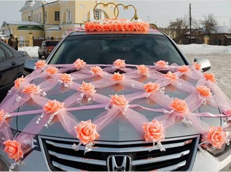 Своими руками оформить машину на свадьбу