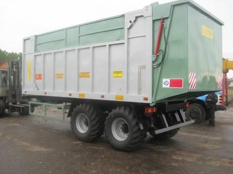 Прицеп для перевозки зерна 15 тонный, фотография 5