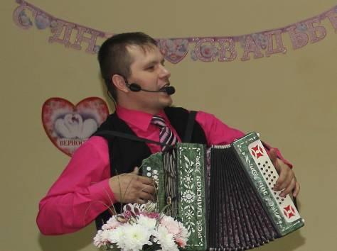 Лучший поющий ведущий Тамада-гармонист на свадьбу или юбилей в Рязани и области, баянист Иван Гранков. новый год, фотография 2