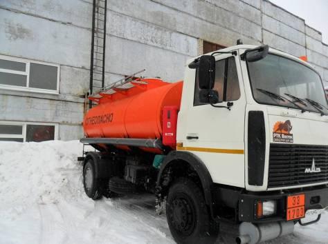 Автотопливозаправщик 11 м3, 2 секции, МАЗ 5337А2, Евро-3, 2012 г.в., фотография 3