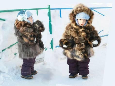 Детские шубы от производителя из натурального меха , фотография 3