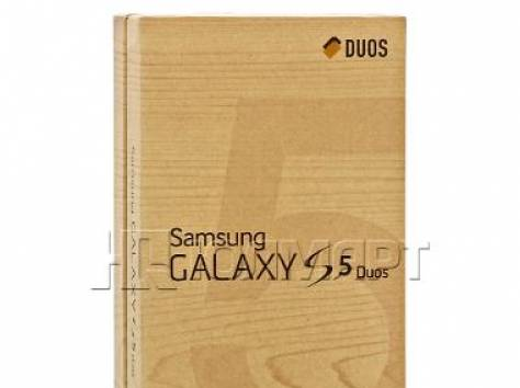 Смартфон Samsung SM-G900FD GALAXY S 5 dual sim gold, фотография 4