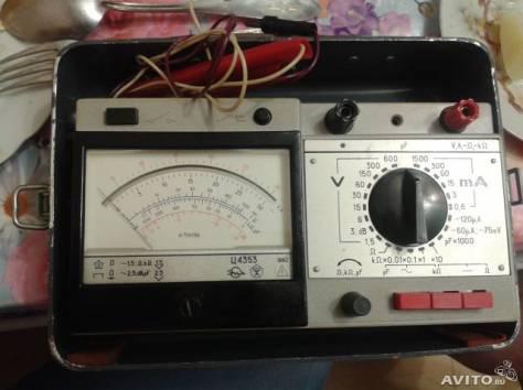 Прибор электроизмерительный амперметр , фотография 1