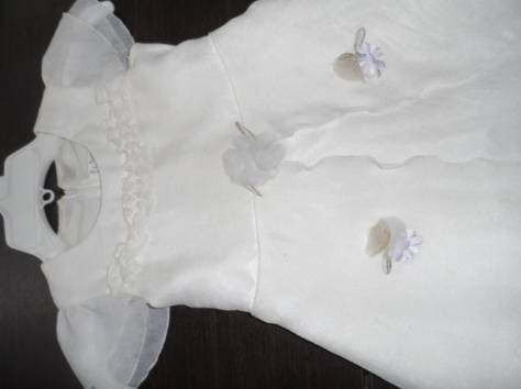 Платье на рост 110-116 белое, фотография 2