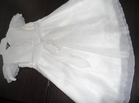Платье на рост 110-116 белое, фотография 4