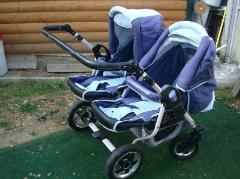 Продам коляску для двойни, фотография 2