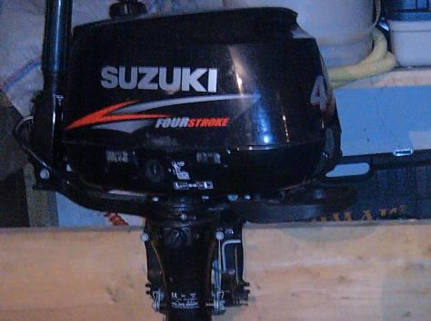 продам лодочный мотор suzuki 4-х в отличном состоянии, фотография 2