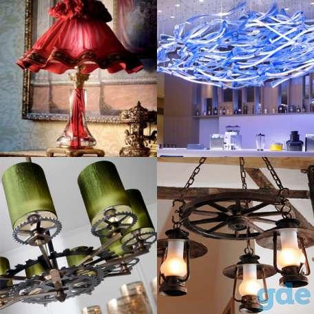 Изготовление авторских светильников, фотография 3