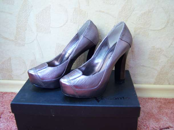 Туфли Vesconte серебристые р.35, фотография 2