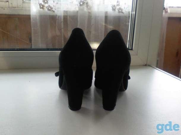 Качественные натуральные замшевые туфли, фотография 3