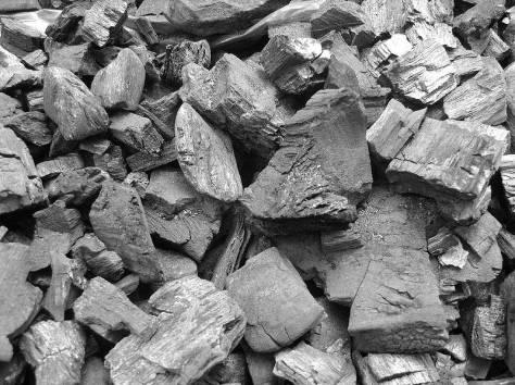 Древесный уголь из березы, фотография 2