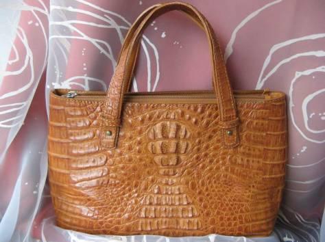 продается сумка из кожи крокодила, фотография 1