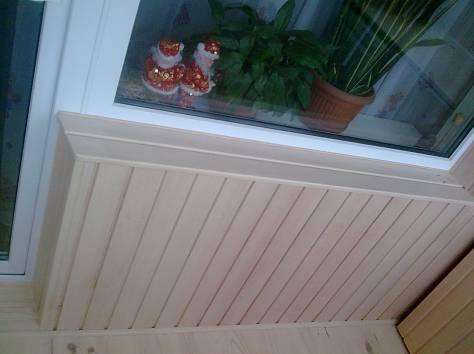 Установка межкомнатных дверей, утепление, обшивка балконов р.