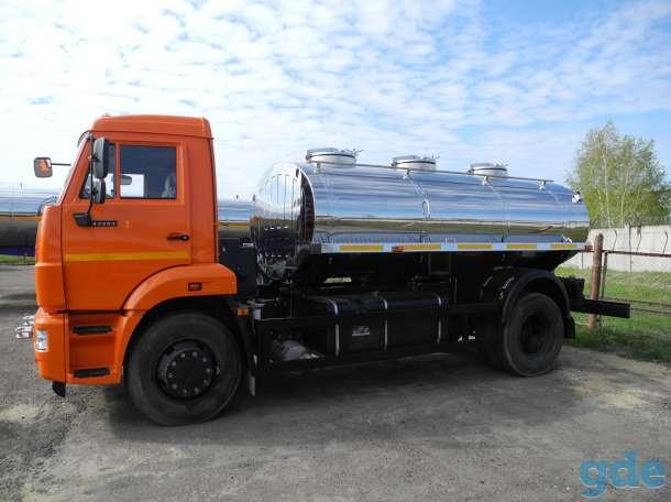 Молоковоз КАМАЗ 43253 7,5 м3 (новый водовоз), фотография 1