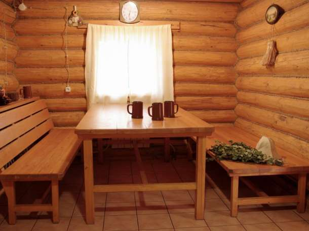 русская деревенская баня фото