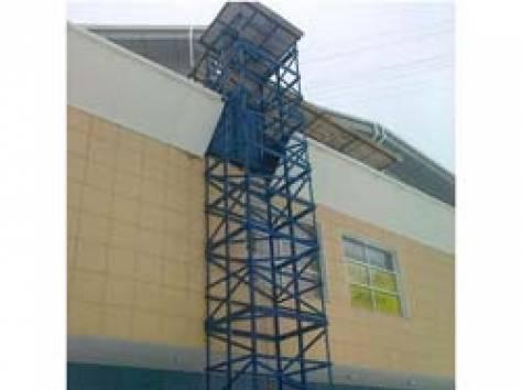 Шахтный подъёмник ТИТАН для магазина стройматериалов, фотография 1